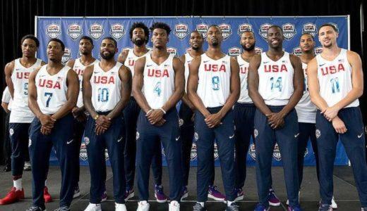 【バスケW杯】アメリカ代表メンバーを写真付きで紹介!ポジションや注目選手も!