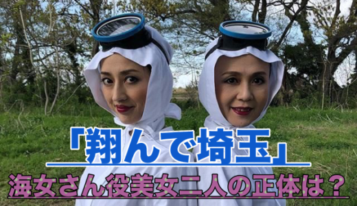 【翔んで埼玉】海女さん役の女優2人は誰?伊勢谷の両脇にいる美女でセリフがシュールすぎる!