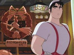 パン屋の店主の名前はフクオ!有名声優やほぼないせりふを調査!【魔女の宅急便】